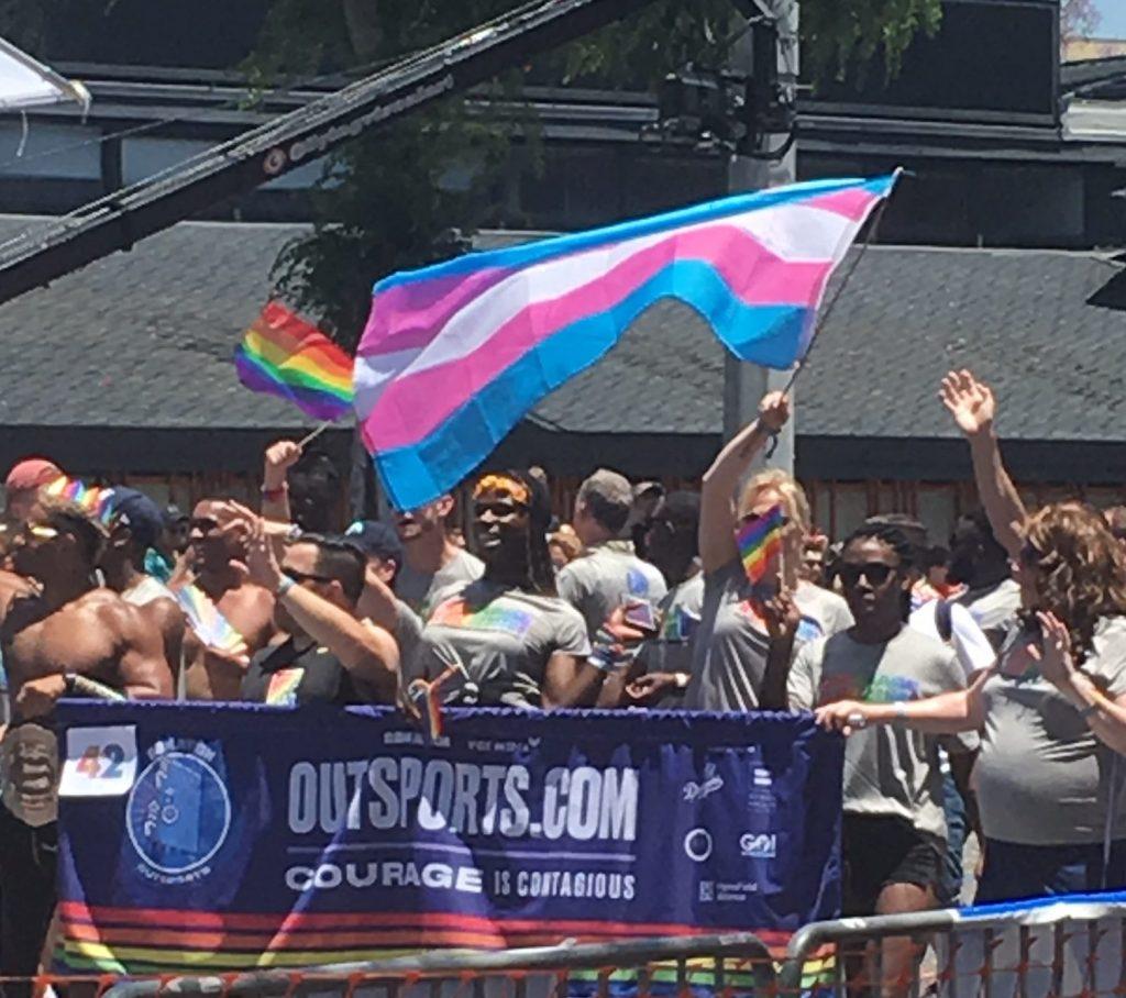 outsports transgender flag